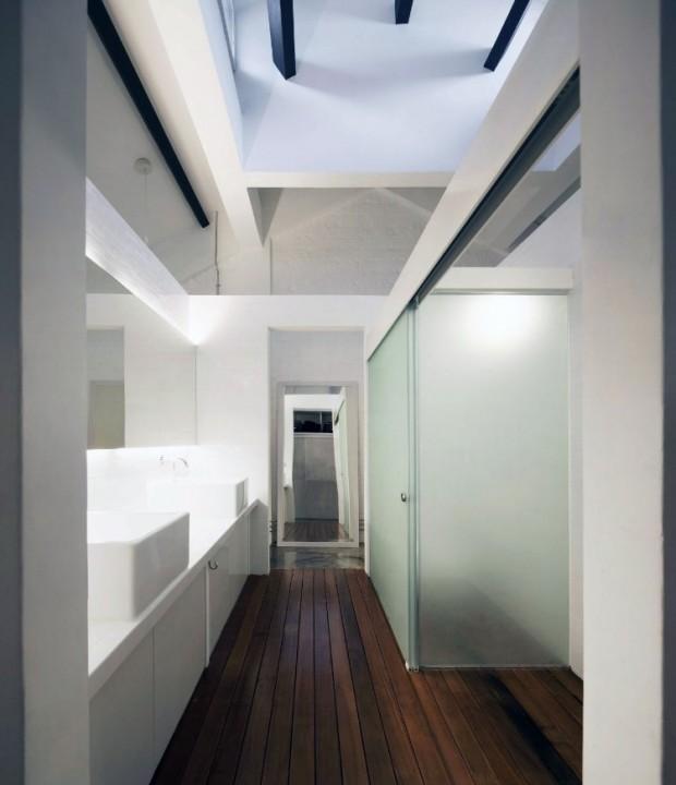 Квартира в индустриальном стиле 11