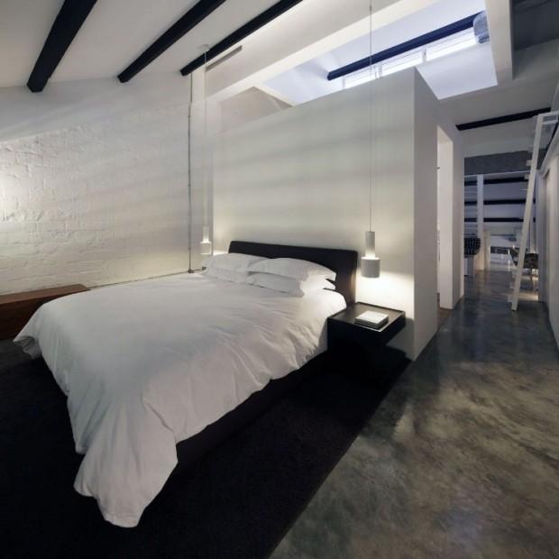 Квартира в индустриальном стиле 12