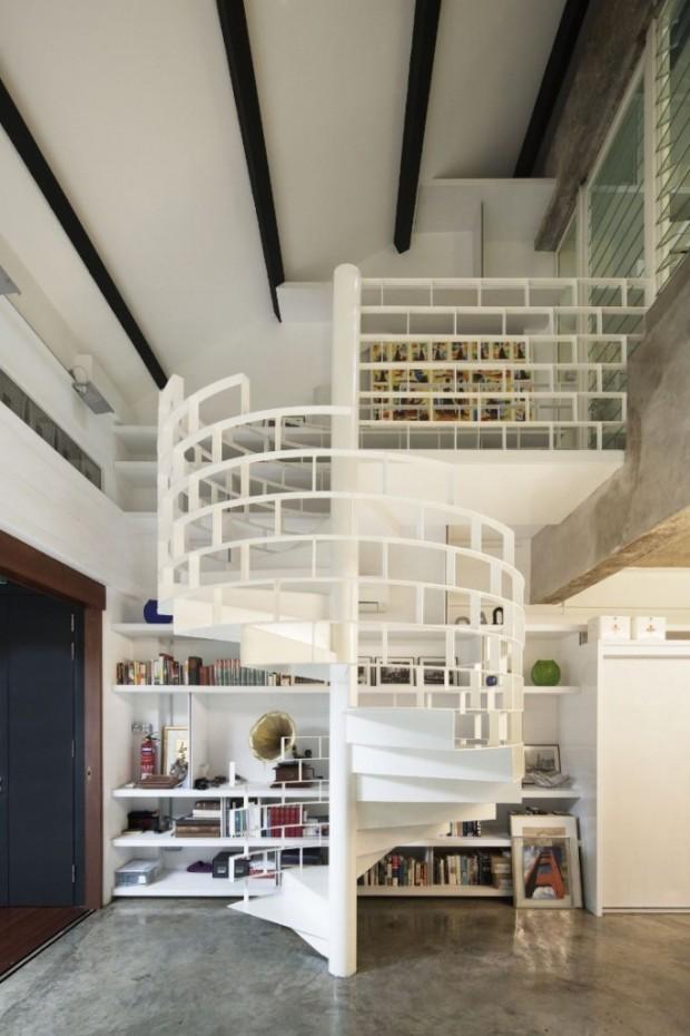 Квартира в индустриальном стиле 6