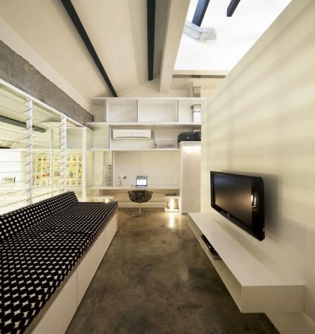 Квартира в индустриальном стиле 8