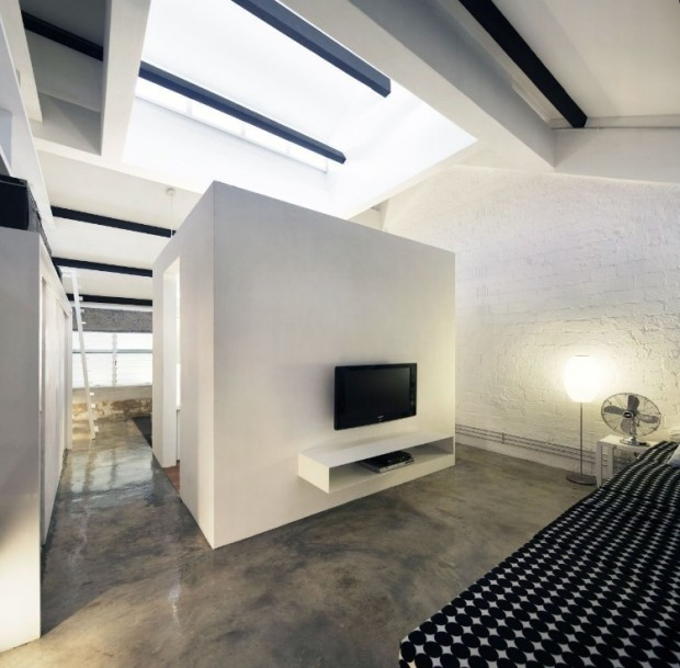 Квартира в индустриальном стиле 9