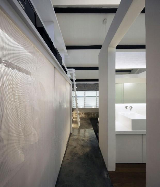 Квартира в индустриальном стиле 10