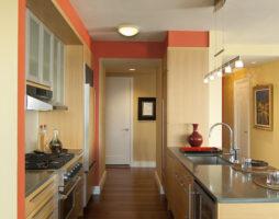 Природное великолепие кухни цвета венге