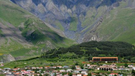Необычный грузинский отель