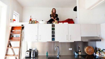 """Спальное место на кухне — функциональная """"изюминка"""" интерьера"""