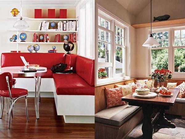 Кухонные уголки приспособленные под спальное место