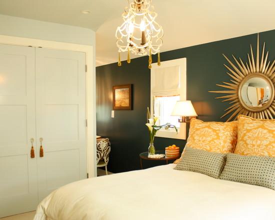 Стильная солнечная спальня