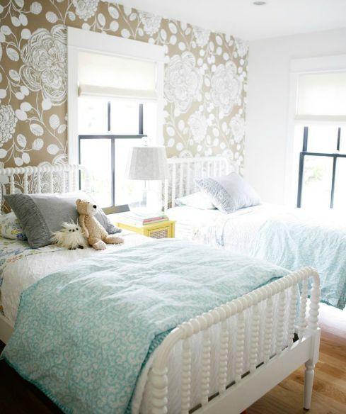 Кованные белые детские кровати