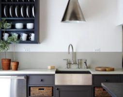 Чёрно-белая кухня: умиротворяющая гармония или энергичное дыхание современности?