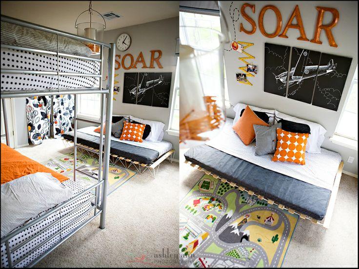 Урбанизм в исполнении детской комнаты для мальчиков