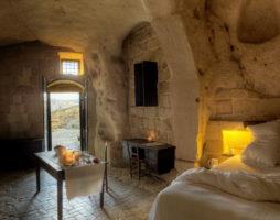 Интерьер недели: Гостиница в пещере