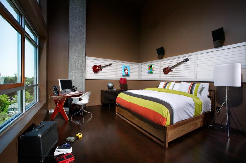 Хай-тек в оформлении комнаты подростка