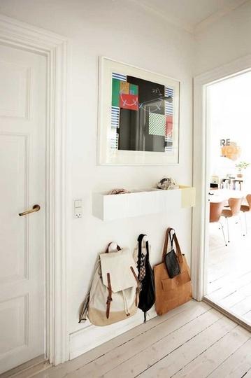 Дизайн маленькой коридорной мебели