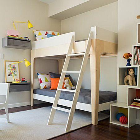 Минимализм детской комнаты для мальчиков