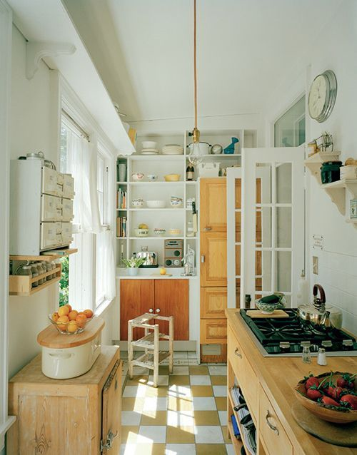 Деревенская кухня 8 кв м