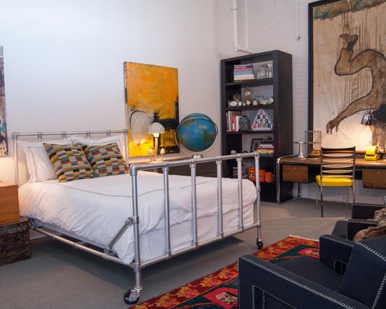 Грубый стиль лофт для оформления комнаты подростка