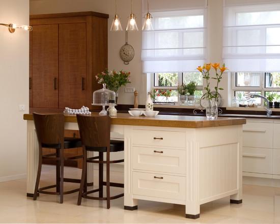 Как красиво сделать кухню в частном доме 30