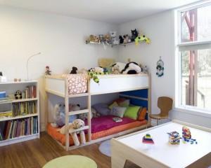 Детская комната для двух мальчиков - 75 фото интерьеров