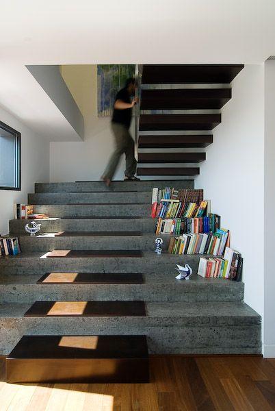 Футуризм в интерьере лестницы