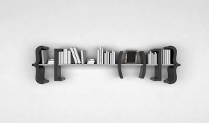Creative-Black-Floating-Shelf