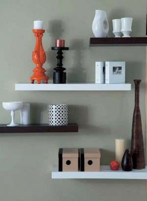 Modern-Brown-and-White-FLoating-SHelves