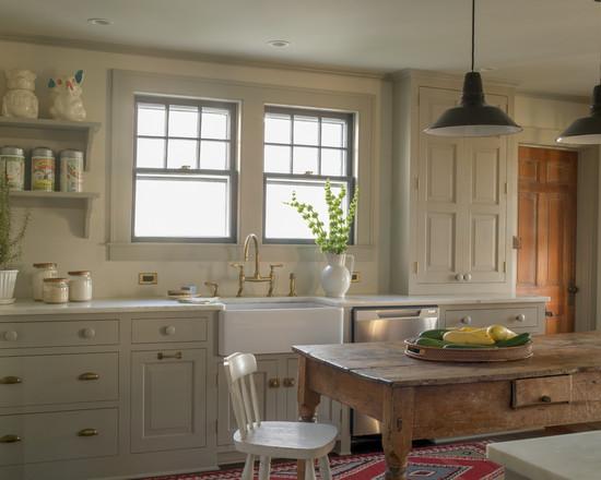 Британский стиль в интерьере кухни