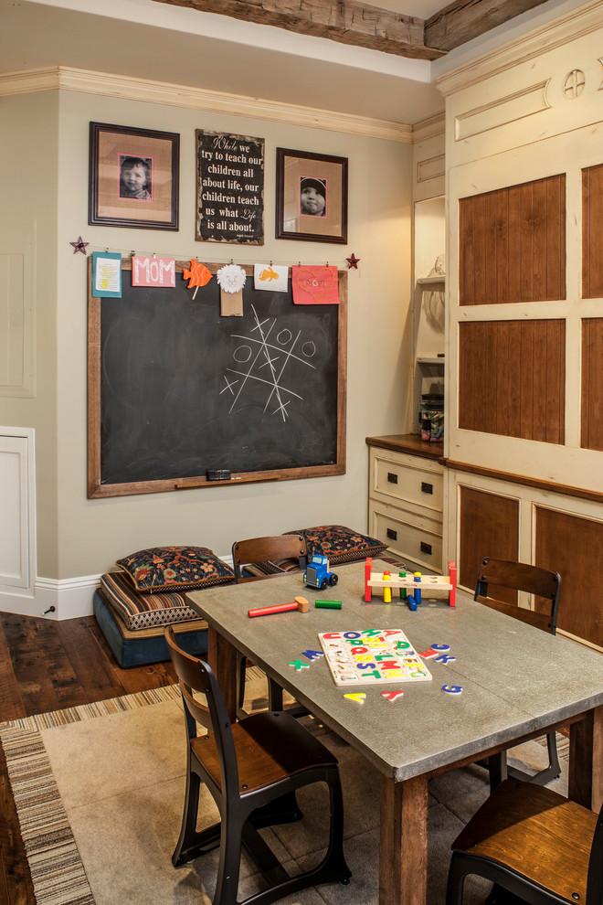 Рабочий уголок в детской комнате