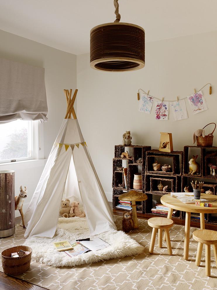 Индейский стиль в оформление детской комнаты