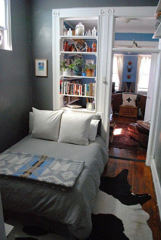 Маленькая спальня в деревенском стиле