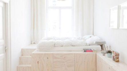 Подиум в квартире – как это бывает