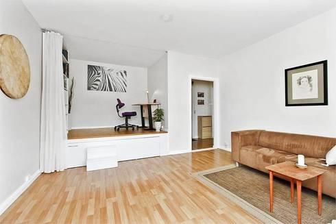 фото комнаты с подиумом