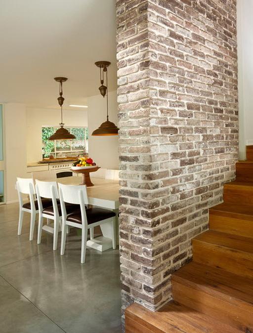 Кирпичная стена в интерьере - 122 фото примеров искусственный камень в интерьере зала