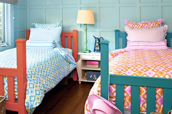 Цветовое оформление кроватей