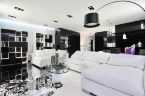 Beautiful-Living-Room-Design-White-Sofa-Small-Round-Coffee-Table-634x422