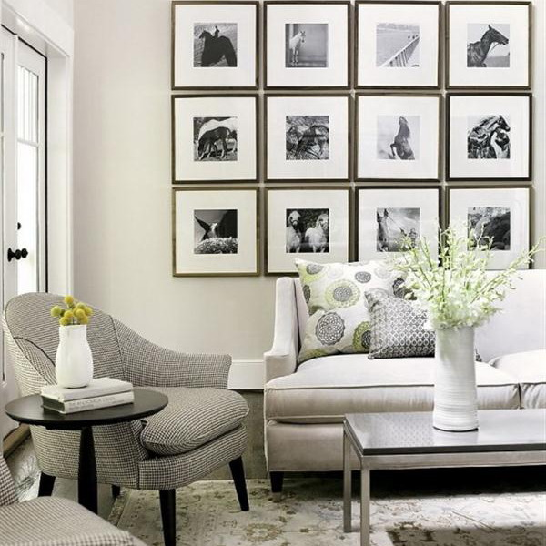 White And Navy Living Room Houzz Black And White