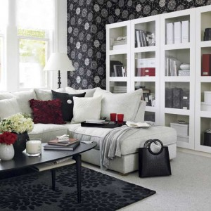 Black-and-White-in-Traditional-Living-Room-LaurieFlower-016