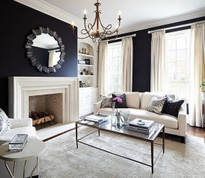 Black-walls-add-a-sense-of-coziness-and-grandeur-to-the-living-room