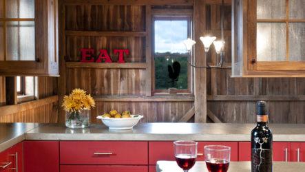 Красная кухня. Экспрессия или умиротворение?