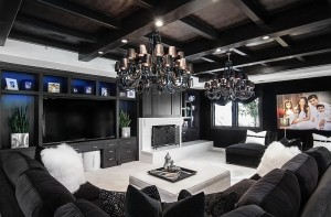 Luxurious-contemporary-family-room-in-black-and-white-looks-truly-stunning