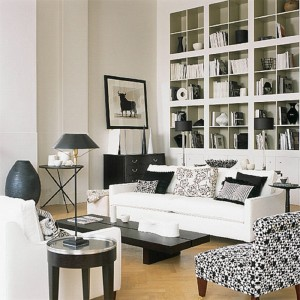 Modern-Black-And-White-Living-Room