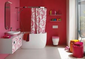 Pink-Bathroom-Ideas-For-Valentine-Day-by-Laufen-587x409