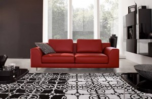 Red-Black-and-White-Living-Room-Decor5
