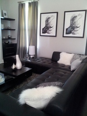 Small-Black-And-White-Living-Room