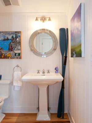 Декор ванны в морском стиле
