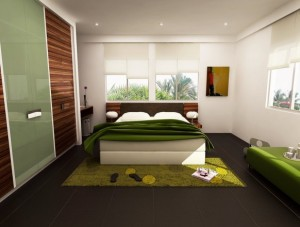 fresh-greeny-bedroom-by-3Dskaper-582x442