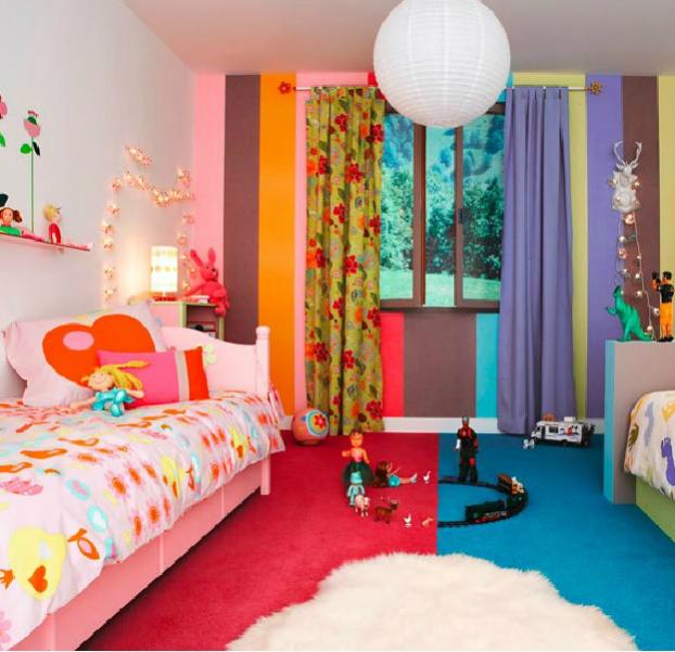 маленькая детская для разнополых детей 28 фото интерьеров