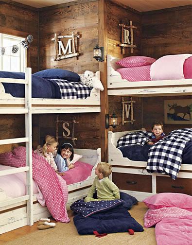 Детская комната для большого количества детей