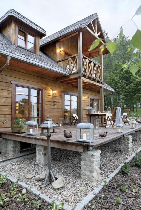 Сельский дом в Польше