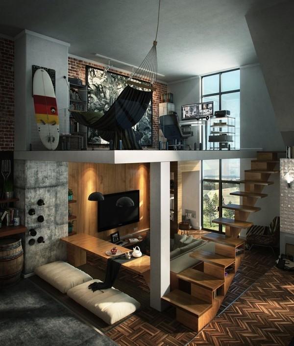Небольшой второй этаж для кабинета