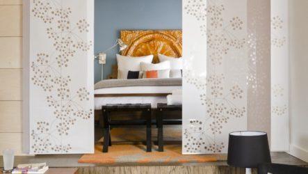 Секреты оформления интерьера спальни в японском стиле